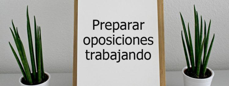preparar oposiciones